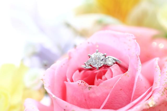 バラ 指輪